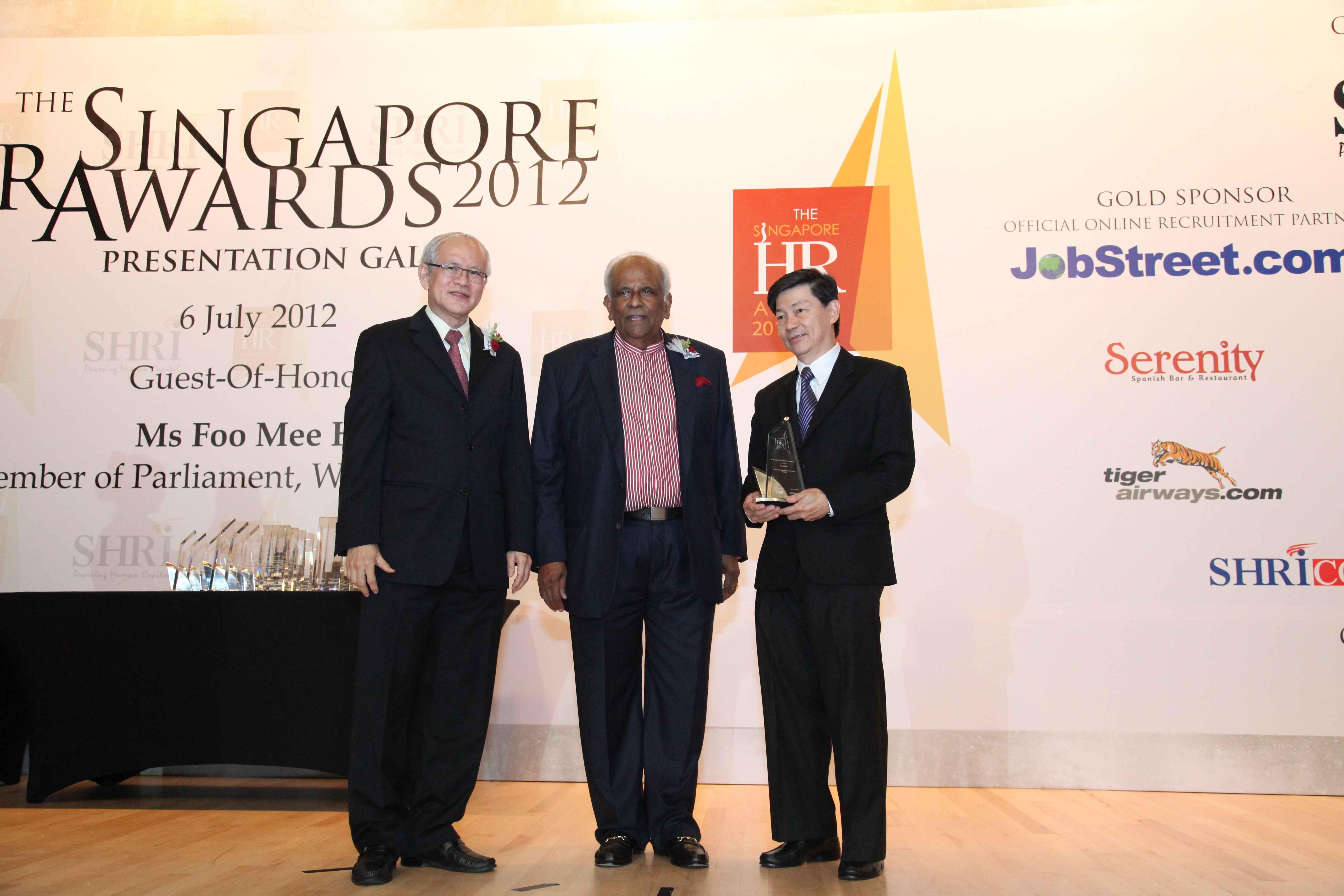 The Singapore Hr Awards 2012